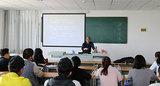 米万锁教授为青年教师讲解如何编写教案